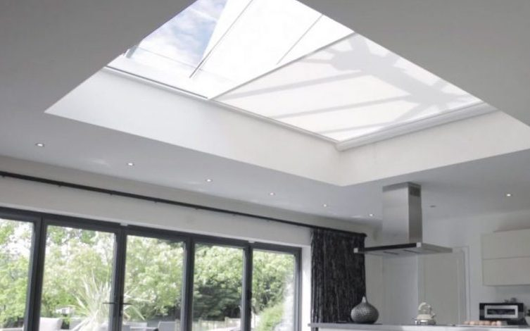 Roof Lantern Electric Blinds - The Electric Blind Company