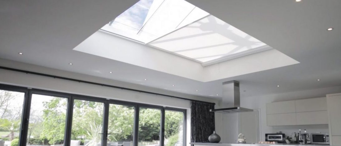 Electric Roof Lantern Blinds The Electric Blind Company