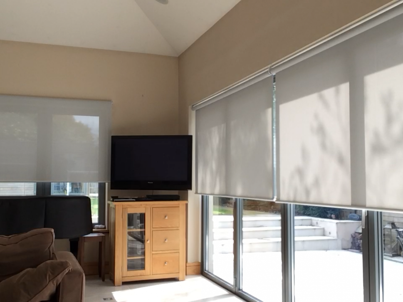 Electric Blinds for Bi Fold Doors - By the Electric Blind Company