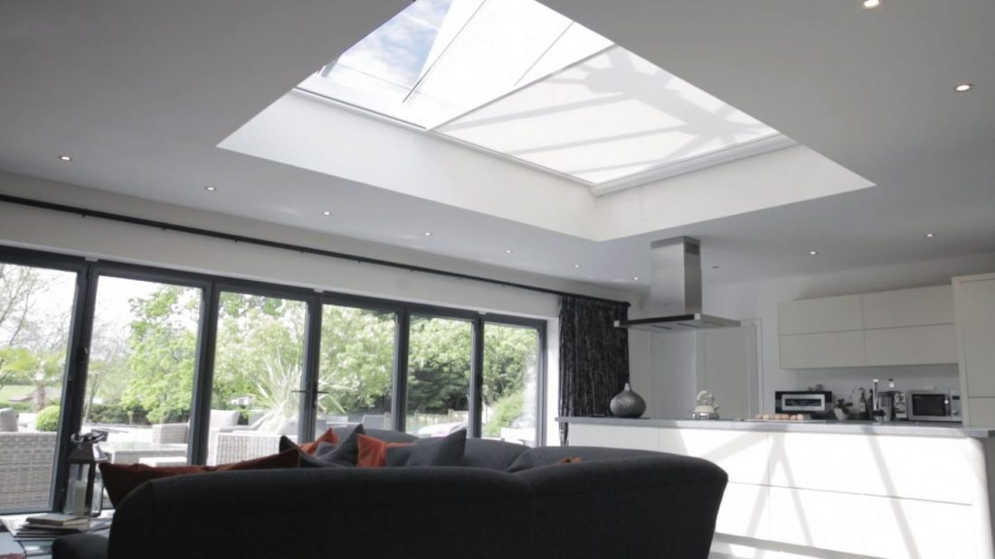 Electric Roof Lantern And Skylight Blinds The Electric