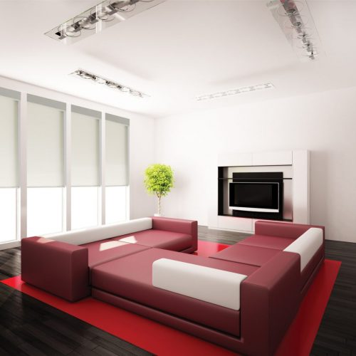 Electric Roller Blinds - QMotion - The Electric Blind Company