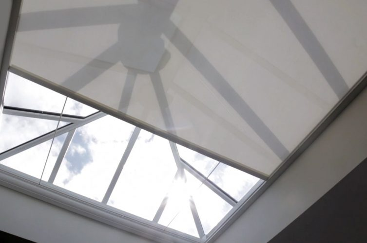 Electric Lantern Roof Blinds by The Electric Blind Company
