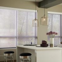 Lutron Electric Roller Blind - Patterned Fabrics - The Electric Blind Company