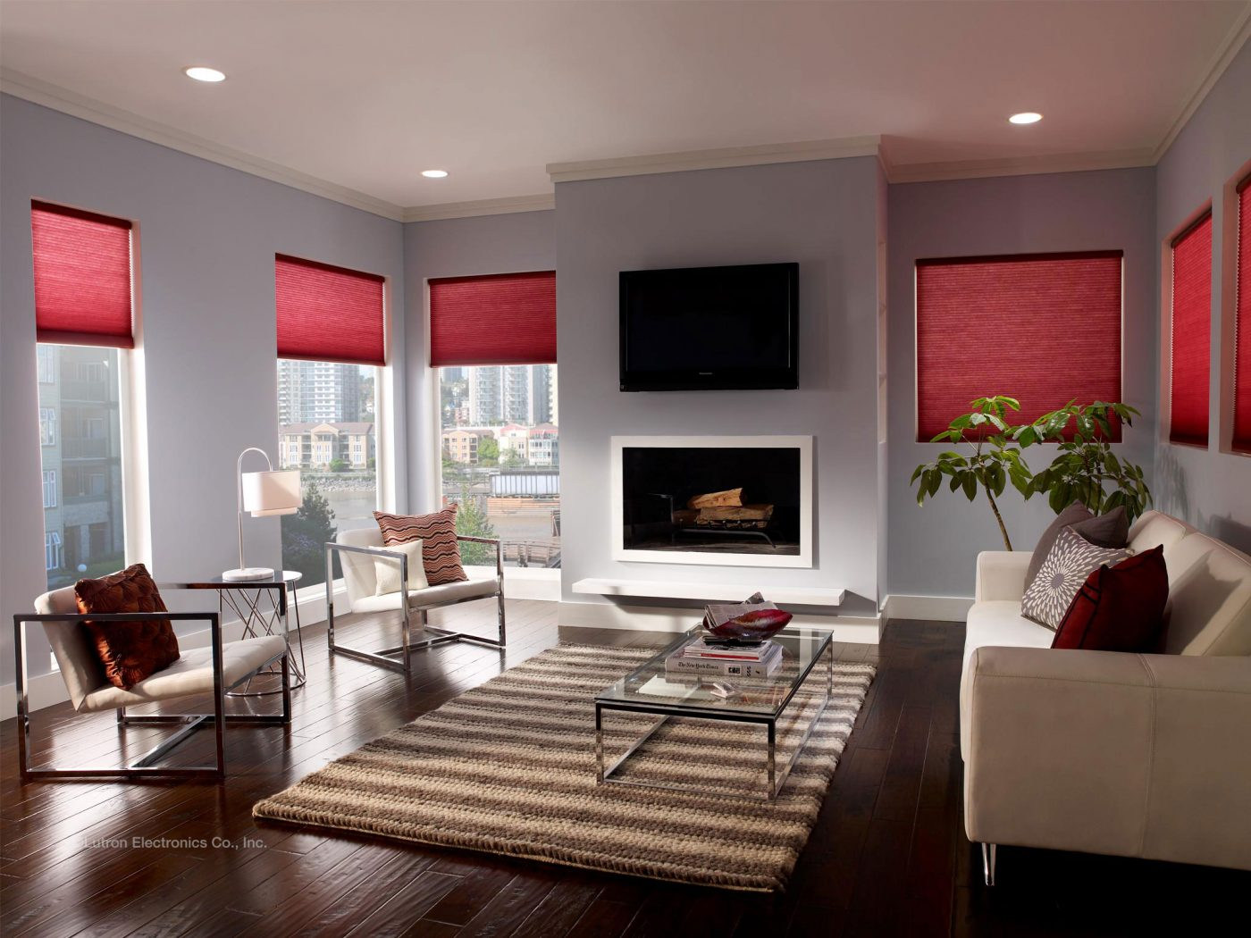 Lutron Electric Blinds The Electric Blind Company
