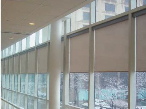 shades and toronto roller window in motorized electric vaughan blinds