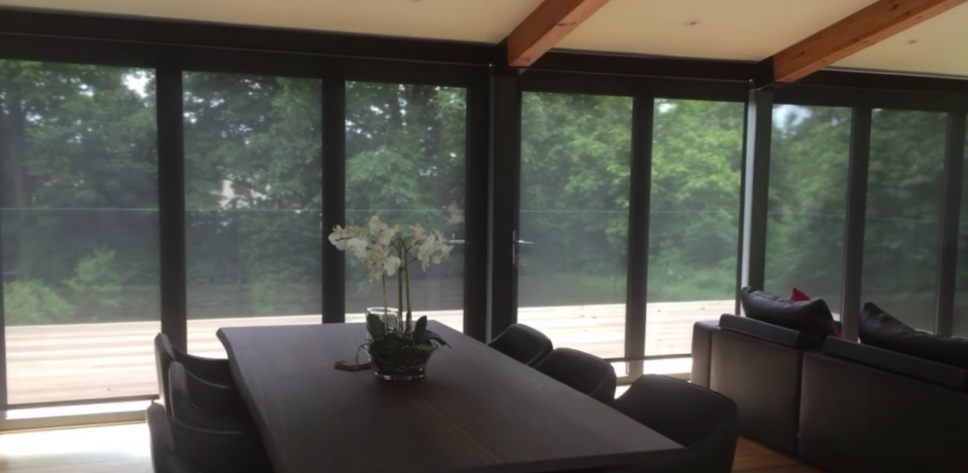Sheer Electric Roller Blinds Fitted in Bursledon, Hampshire