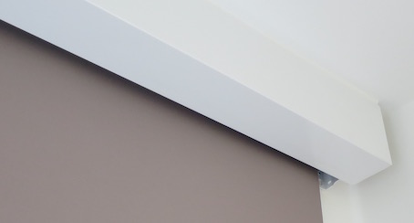 Square Electric Blind Fascia - The Electric Blind Company