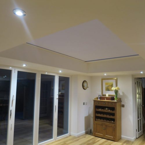 Electric Roof Lantern Blind - Fitted in Berkshire - The Electric Blind Company