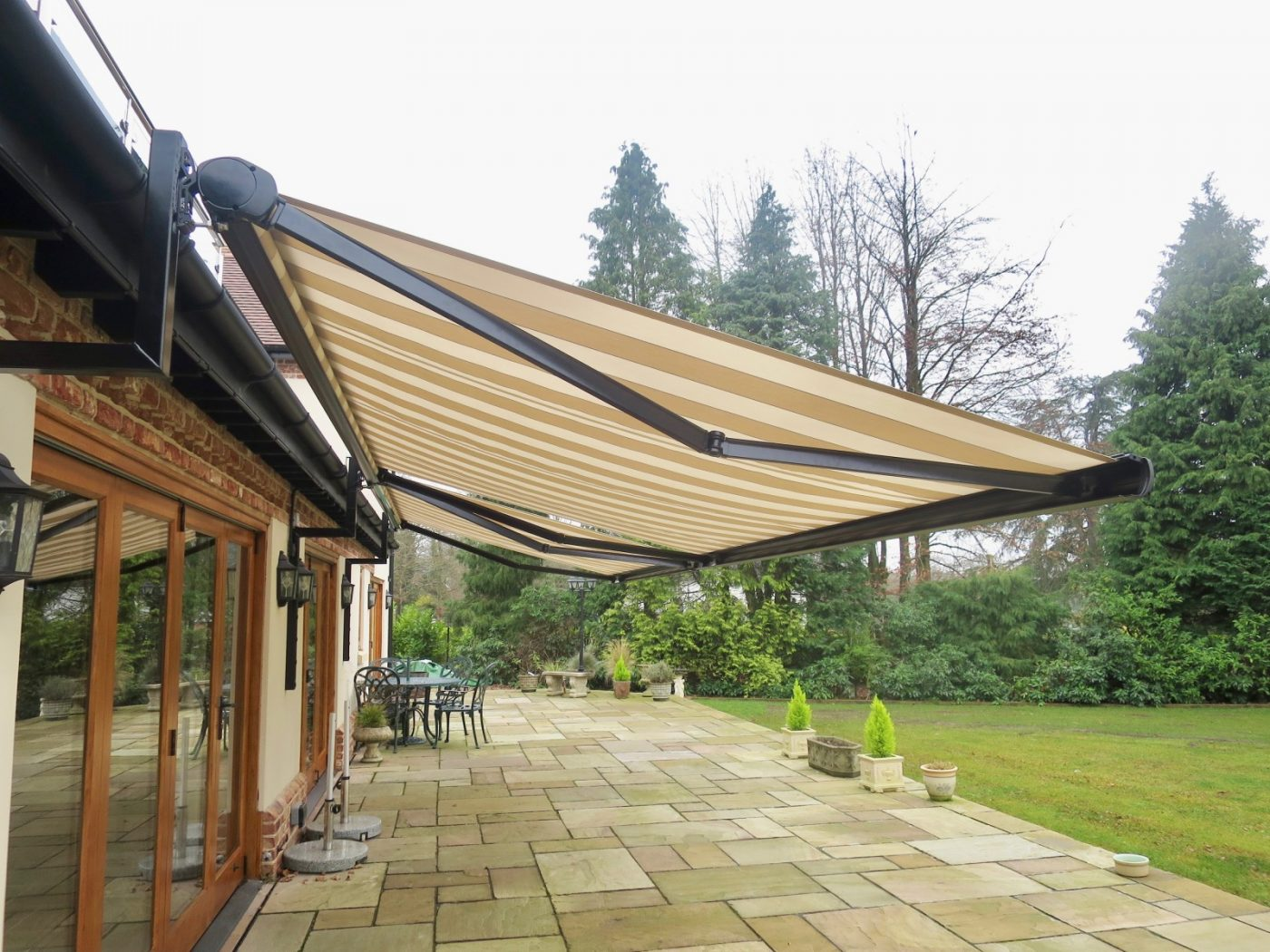 Patio Awning Fitted In Ringwood By Awningsouth