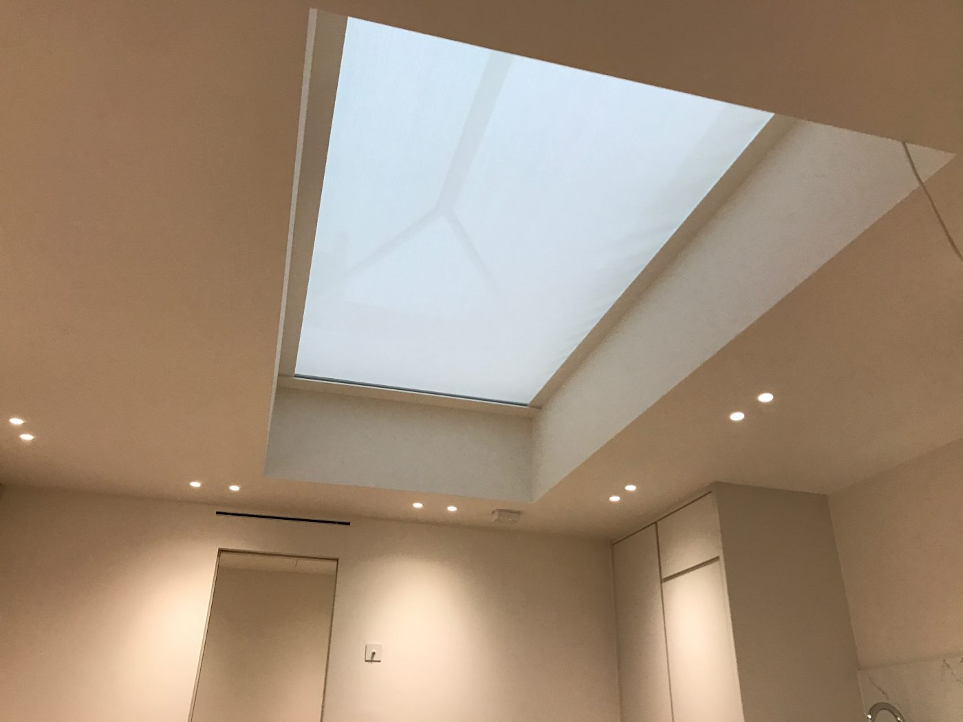 Electric Lantern Blind Fitted in London by The Electric Blind Company