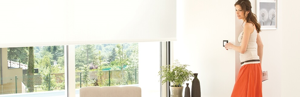 Somfy Electric Blinds - Roller - The Electric Blind Company