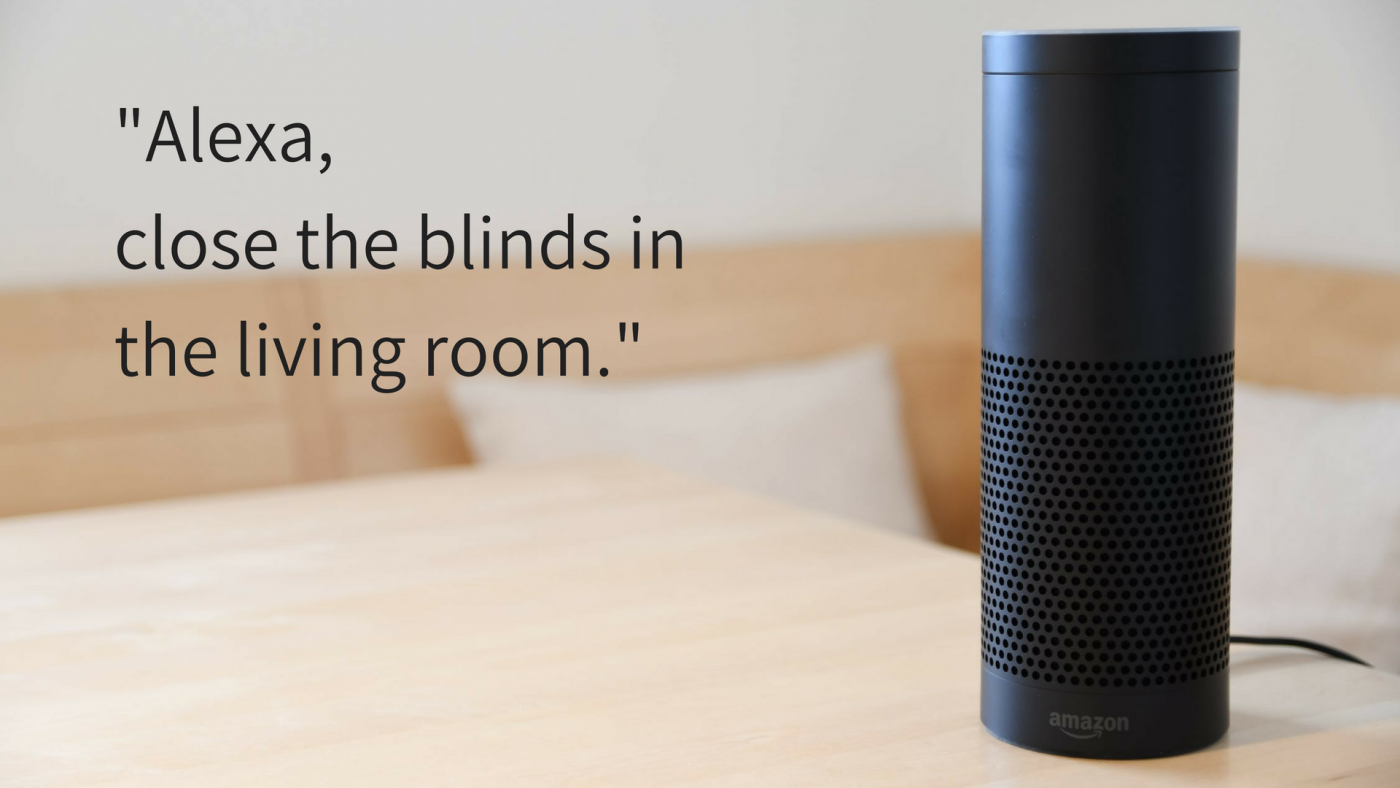 Voice Controlled Electric Blinds - Amazon Alexa - The Electric Blind Company