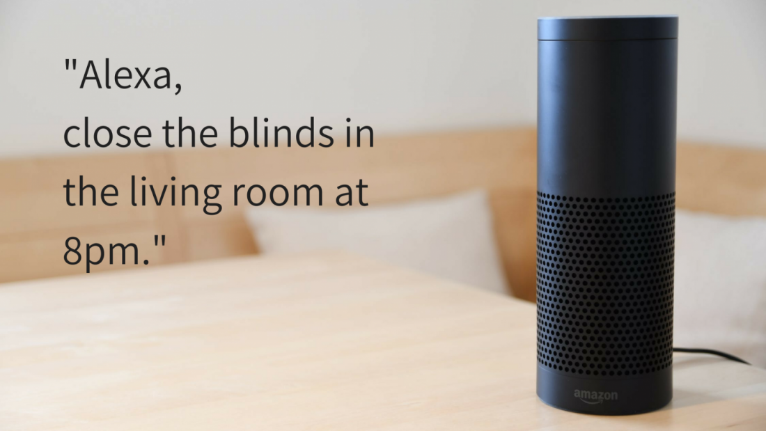 Amazon Alexa Electric Blinds - The Electric Blind Company