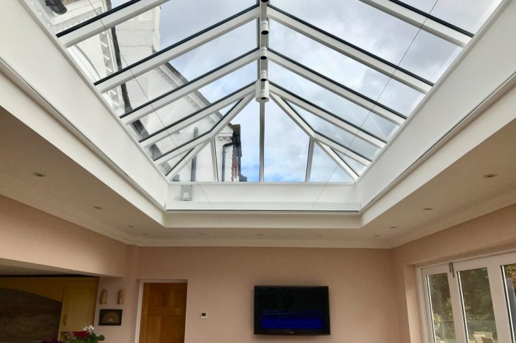 Roof Lantern Electric Blinds - Large - The Electric Blind Company