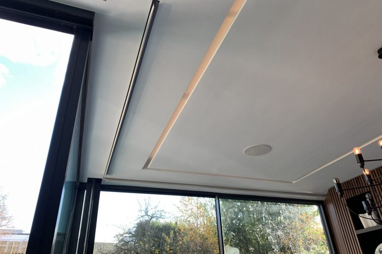 Blindspace Concealed Electric Blinds Fitted in Clapham, London by The Electric Blind Company