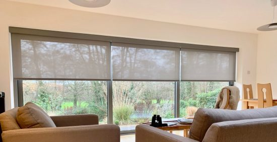 Amazon Alexa Motorised Electric Blinds Fitted By The