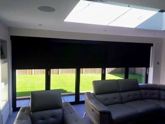 Electric Blinds For Bifold Amp Sliding Doors The Electric