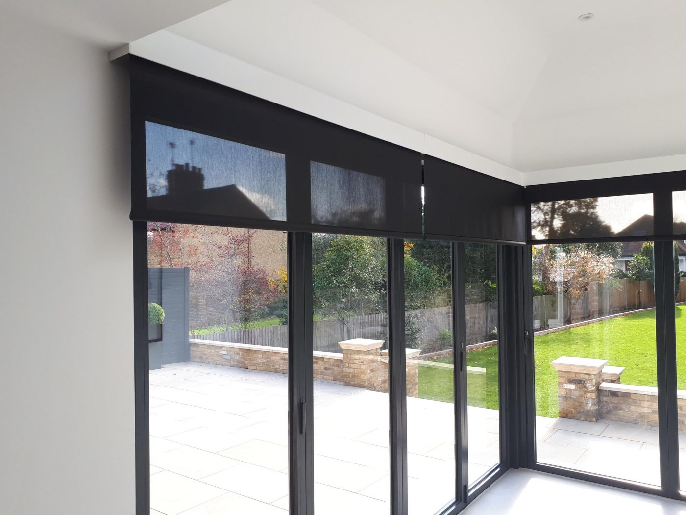 Electric Blinds For Bi Fold Sliding Doors The Electric