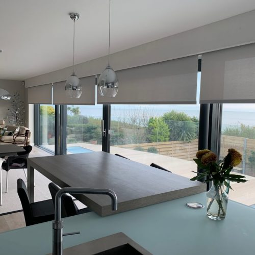 Electric Blinds For Sliding Doors - Fitted in Brighton - West Sussex - The Electric Blind Company