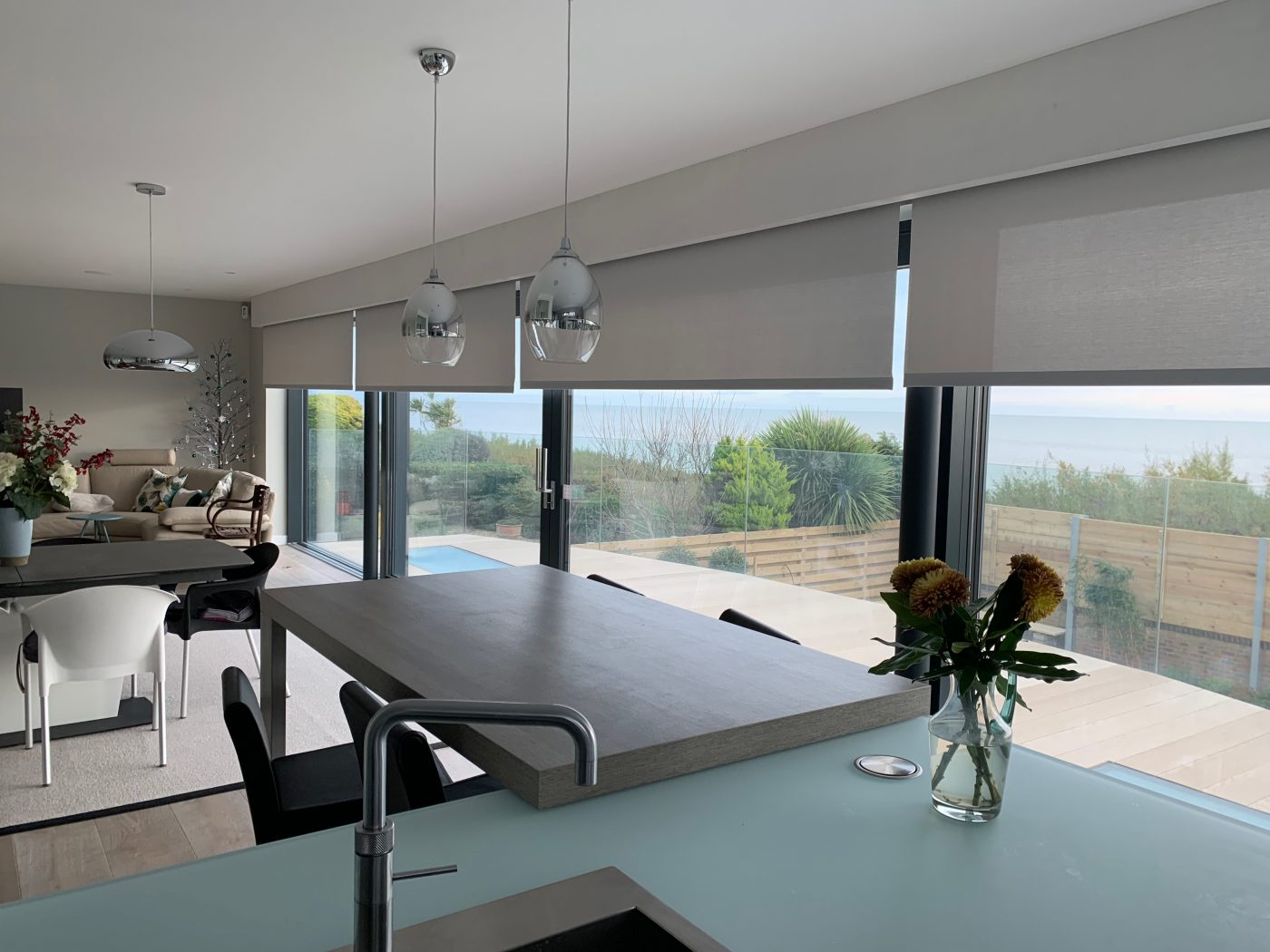Electric Blinds For Bifold Sliding Doors The Electric Blind Company