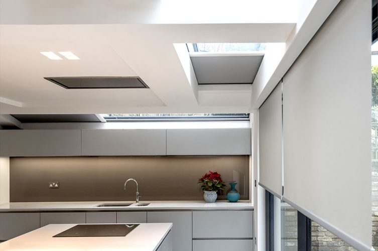 BLINDSPACE Boxes - Concealed Electric Blinds - Kitchen