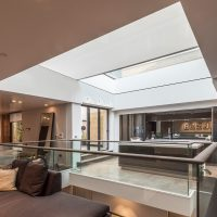 Blindspace Concealed Electric Blinds - Roof Lantern - The Electric Blind Company