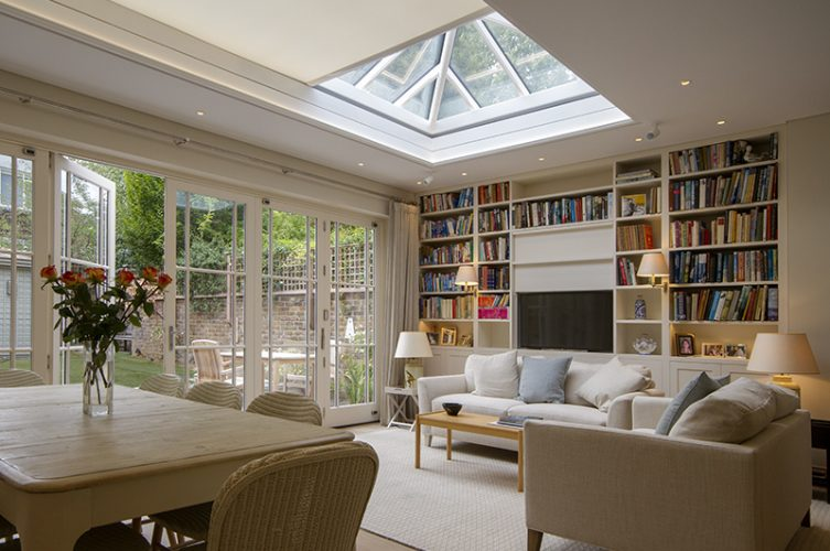Electric Blinds For Roof Lantern - The Electric Blind Company