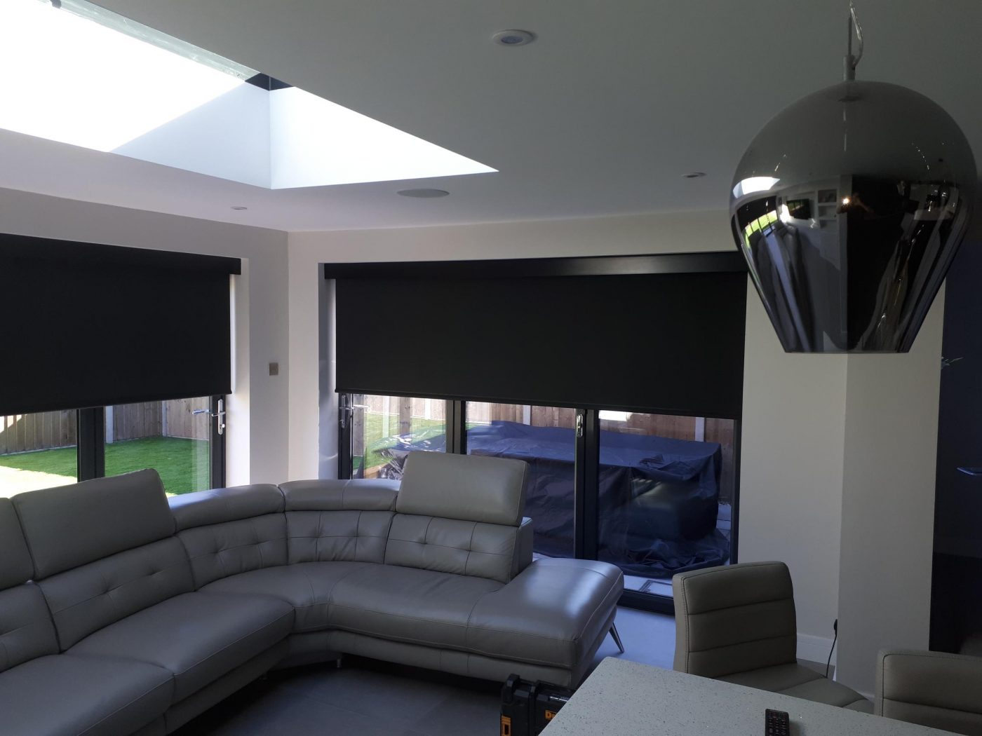 Electric Blinds BiFold Doors - Fitted in Yately By The Electric Blind Company