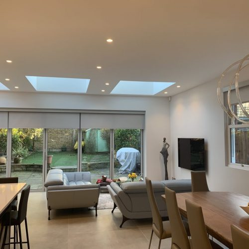 Electric Blinds For Bifold Doors - The Electric Blind Company