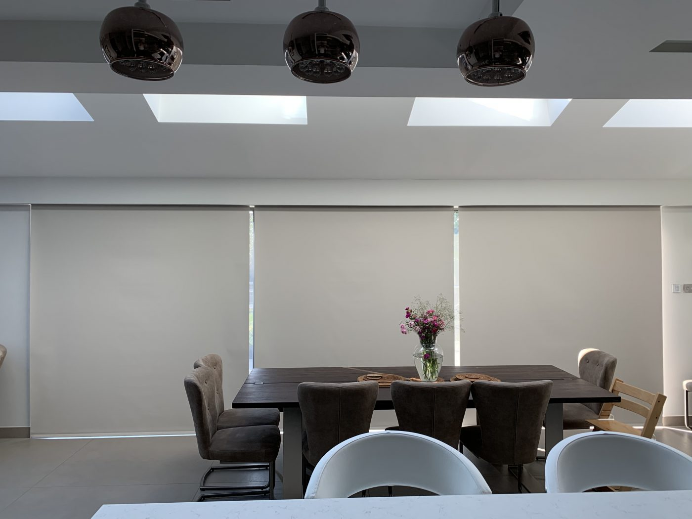 Electric Blinds For Large Patio Doors - The Electric Blind Company