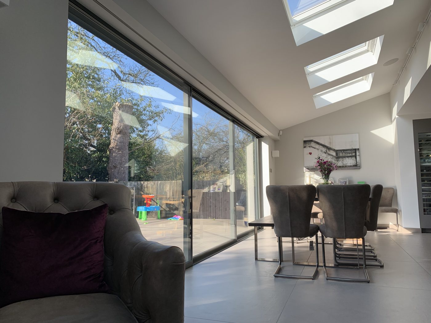 Electric Blinds For Sliding Doors - The Electric Blind Company