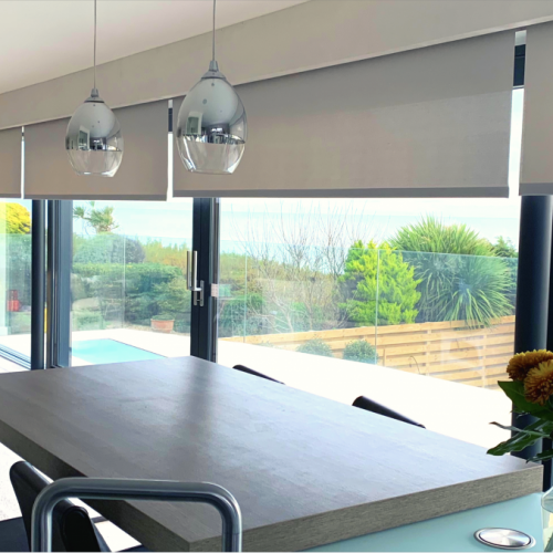Electric Blinds For Sliding Doors- The Electric Blind Company