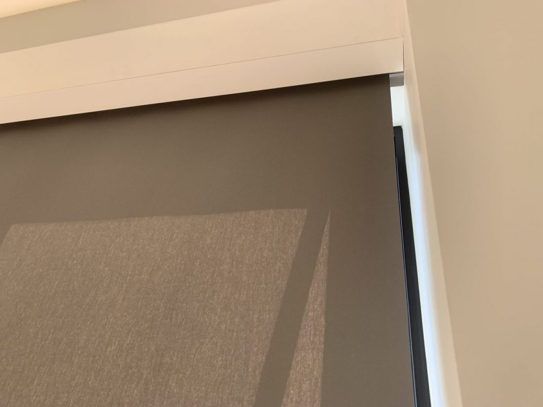 Blindspace Boxes Fitted in Wimbledon by The Electric Blind Company