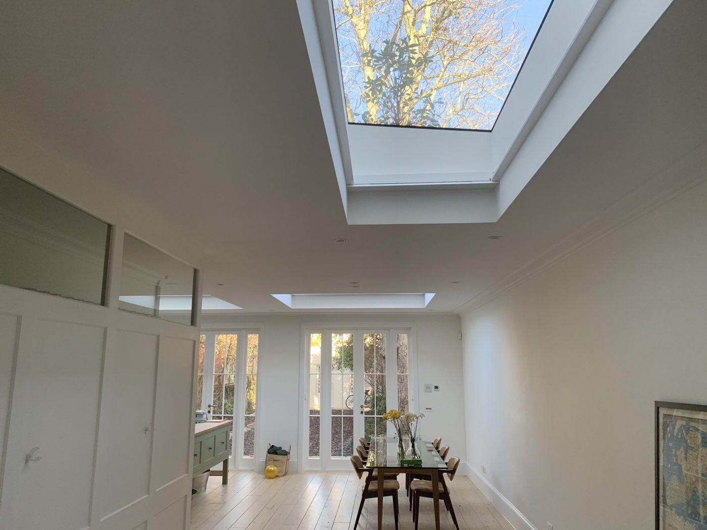 Motorised Roof Lantern Blinds Fitted in Notting Hill - The Electric Blind Company