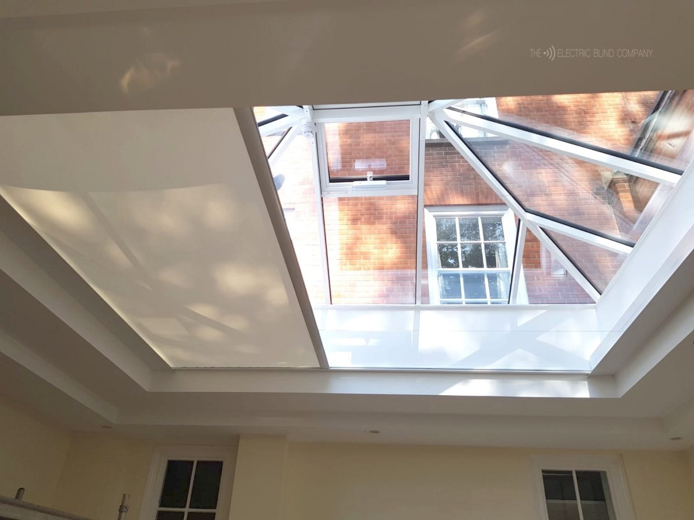 Roof Lantern Electric Blind Fitted for Eton College by The Electric Blind Company