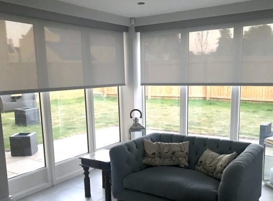 Battery Blinds Fitted in the Cotswolds by The Electric Blind Company