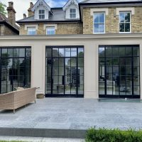 Electric Blinds For Three Crittall Windows Fitted in London by The Electric Blind Company