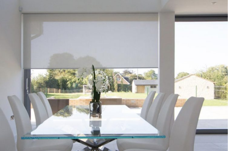 Automate Electric Blinds Dining Room - The Electric Blind Company