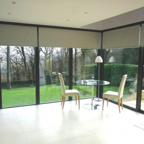 Half Open Blackout Electric Blinds Fitted in Gloucester - The Electric Blind Company