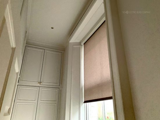 Premium Battery Roller Blinds Fitted In London by The Electric Blind Company
