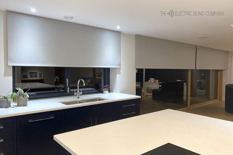 Kitchen and Living Room Electric Blinds - The Electric Blind Company