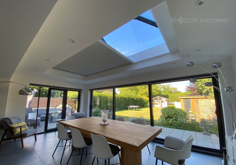 Roof Lantern Electric Blind in Orangery - The Electric Blind Company - 2