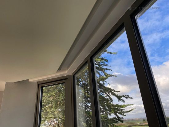Electric Blinds Fitted in Oxford by The Electric Blind Company_Concealed