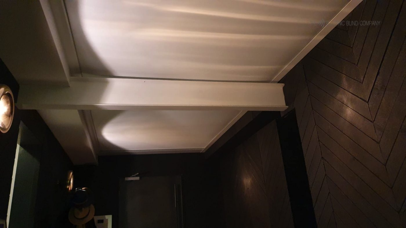Electric Roof Blinds - Commercial Blinds - Fitted by The Electric Blind Company.