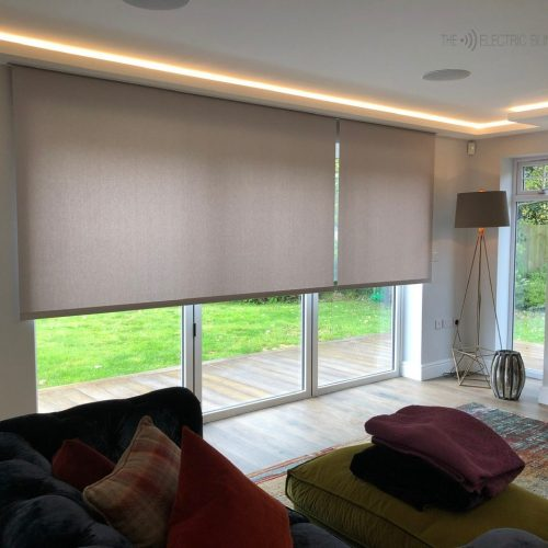 Hardwired Concealed Electric Blinds by The Electric Blind Company